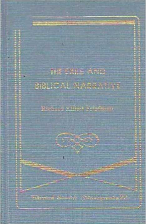 The Exile and Biblical Narrative: The Formation of the